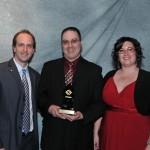 Janick Anctil gagnant catégorie travailleur autonome - gala excellence 2011